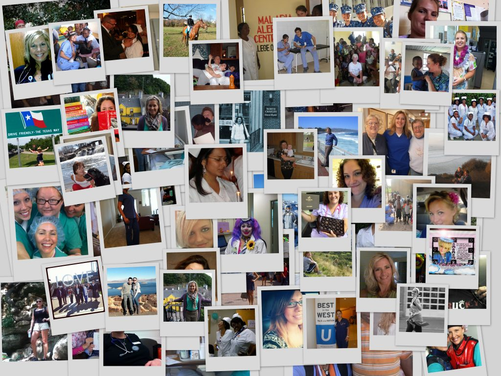 A few of the photos we have received from nurses