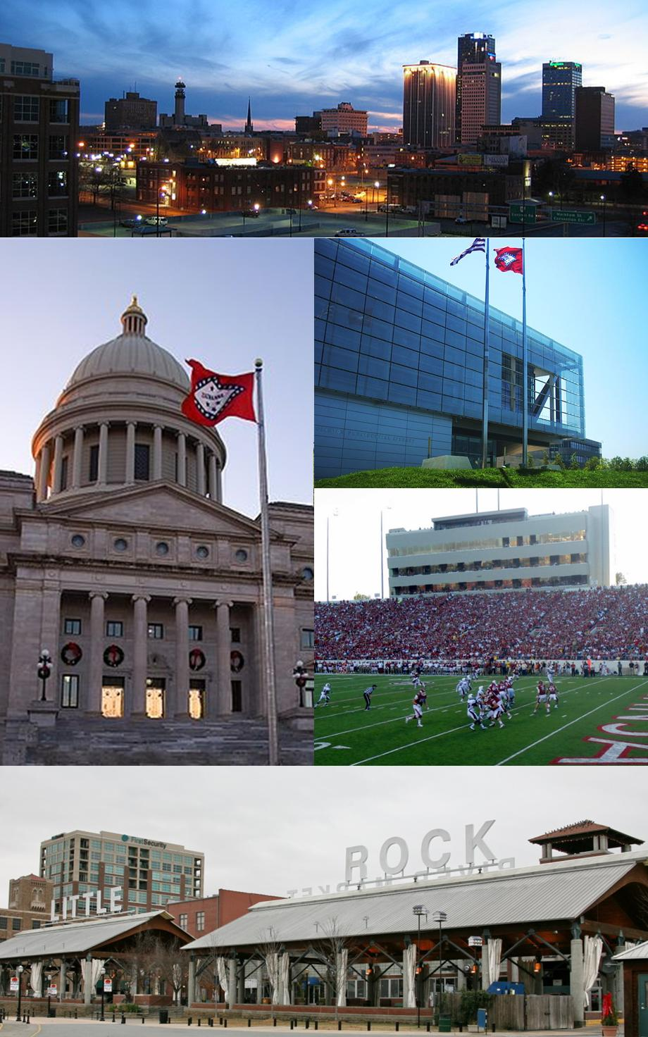 Collage of Little Rock (Brandonrush)