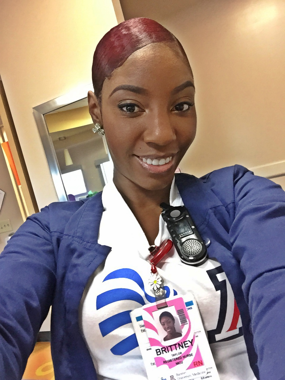photograph of Phoenix NICU nurse Brittney Taylor