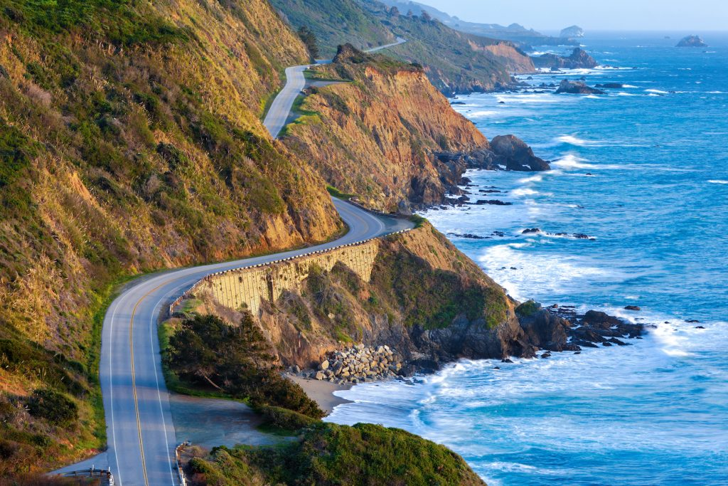 Pacific Coast Highway at southern end of Big Sur, California. (Photo by Doug Meek)