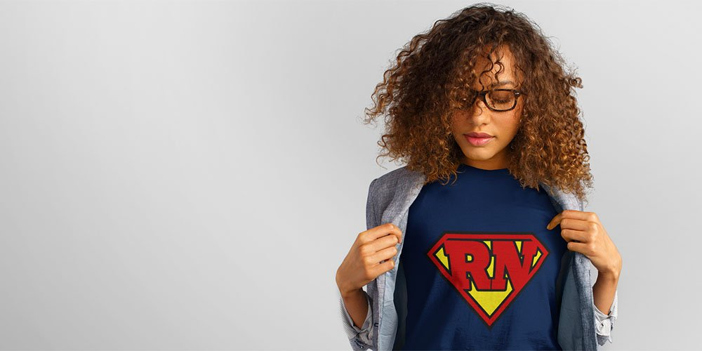 Photo: RN Superhero t-shirt