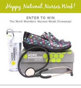 "Photo: a Dansko Footwear ""Work Wonders prize pack"""