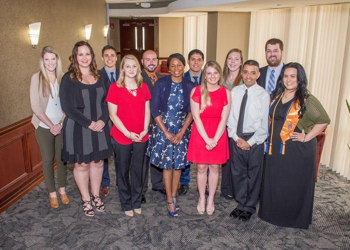 Photo: Graduates from Medical City's 2-Step Nursing Pathway program.