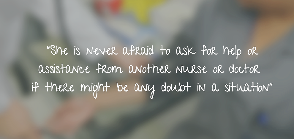 "Cindy Varra quote: ""She is never afraid to ask.."""
