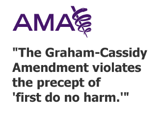 American Medical Association on the Cassidy-Graham bill