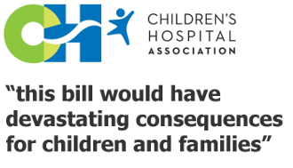 Children's Hospital Association on the Cassidy-Graham bill