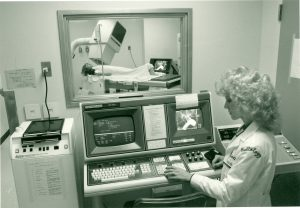 Photo: Radiology department, 1974
