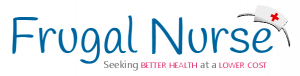 Frugal nurse blog logo