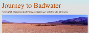 Journey to Badwater - blog logo