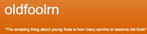 OldfoolRN - blog logo