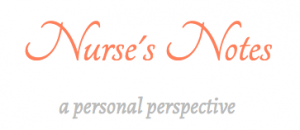 Deb Aston's Nurse's Notes - Logo