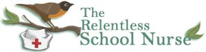 The Relentless School Nurse - logo