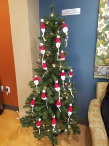 Photo: Christmas tree, the fertility clinic edition