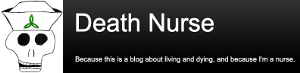 Death Nurse blog logo