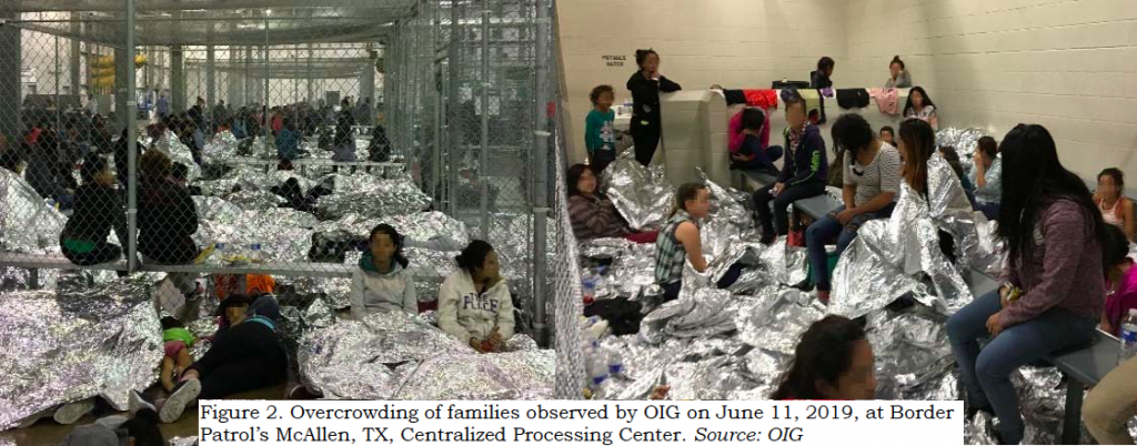 Photos: Overcrowding in Border Patrol station in McAllen, TX