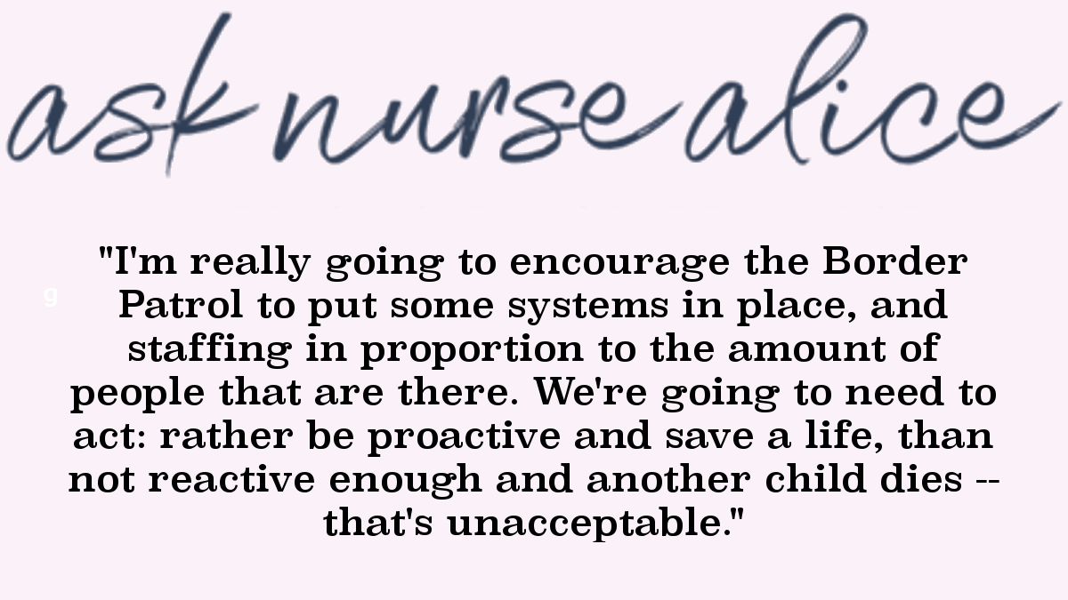 Quote image: Nurse Alice on the death of five children in government custody