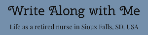 Lois Roelofs: Write along with me - blog logo