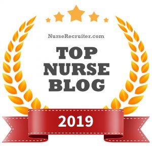 Top Nurse Blog 2019 award