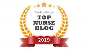 Top Nurse Blogs 2019 - award