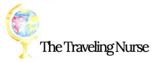 The Traveling Nurse logo