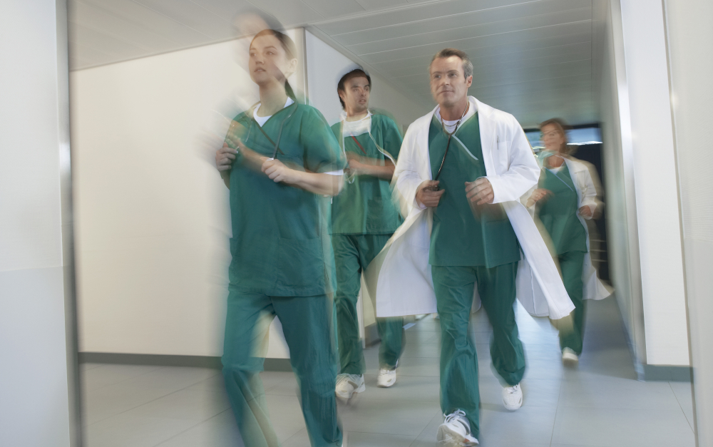 Running nurses / doctors