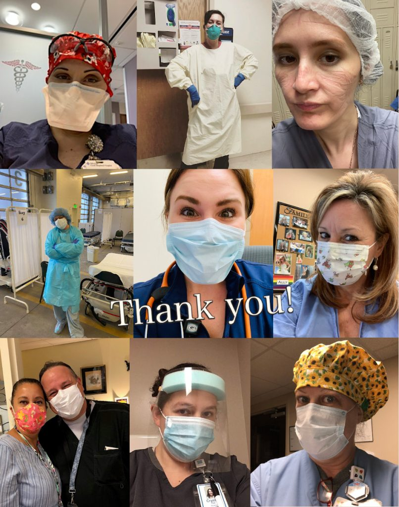 Nurses Week 2020 photo contest collage