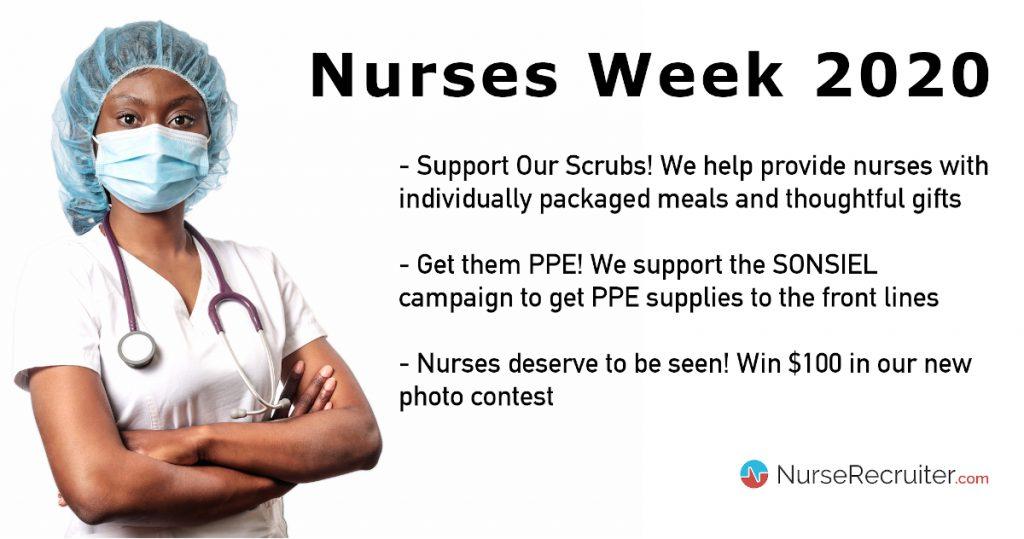 Nurses Week 2020: how NurseRecruiter.com supports nurses