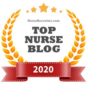 Top Nurse Blog 2020 (award image)