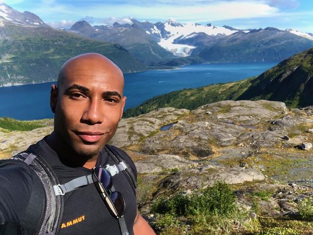 Photo contest winner Eddie Johnson in Alaska